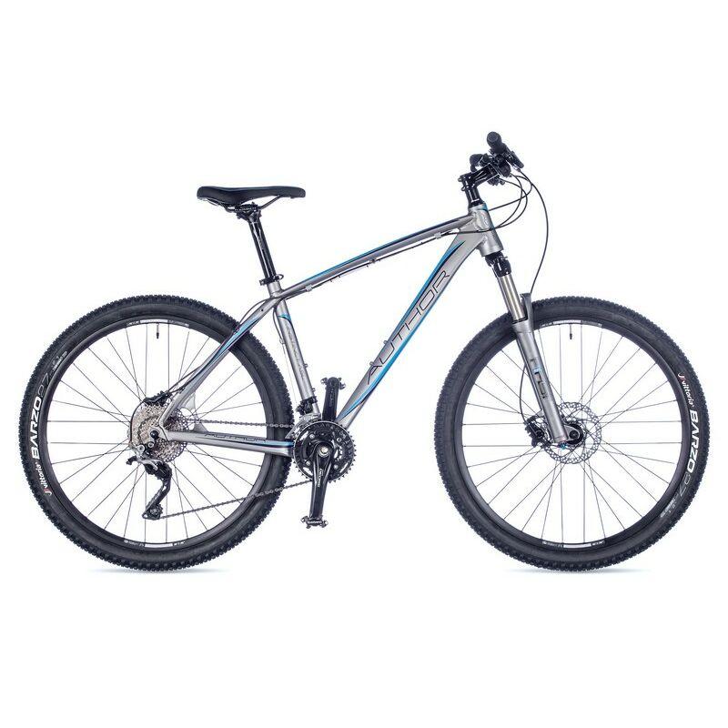 """Instinct ASL női MTB 27,5"""" kerékpár, matt ezüst/kék - AUTHOR"""