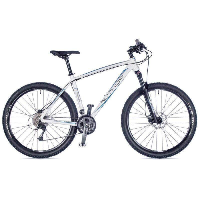 """Traction férfi MTB 27,5"""" kerékpár, fehér/kék/fekete - AUTHOR"""