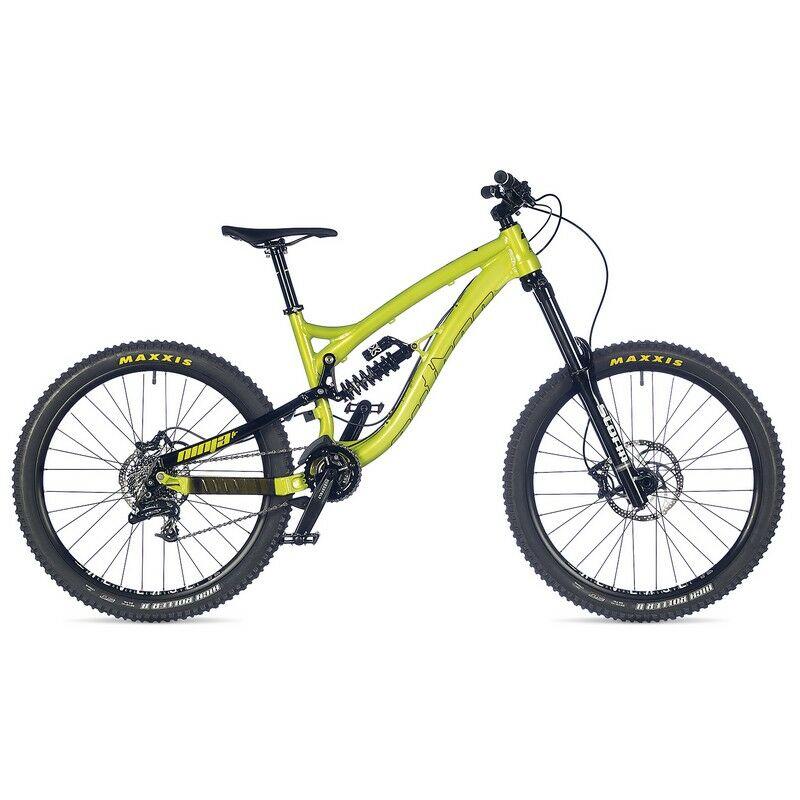 """Ninja FR 26"""" FSX freeride kerékpár, zöld/fekete - AUTHOR"""