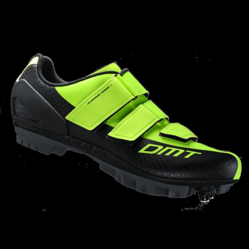 M6 MTB kerékpáros cipő, fluorit sárga/fekete - DMT