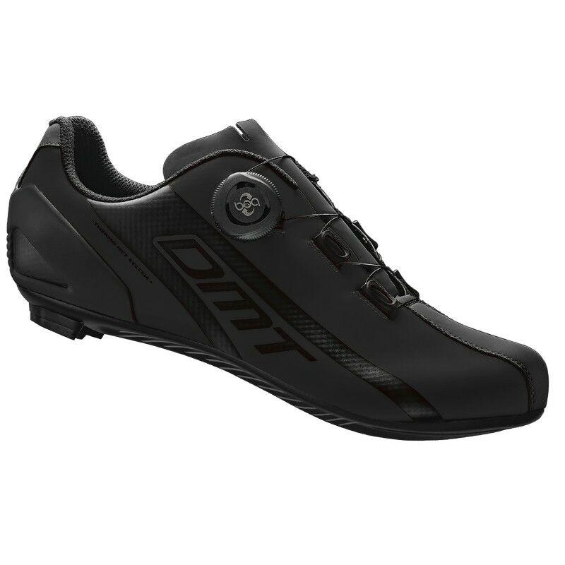 R5 országúti kerékpáros cipő, fekete/fekete - DMT