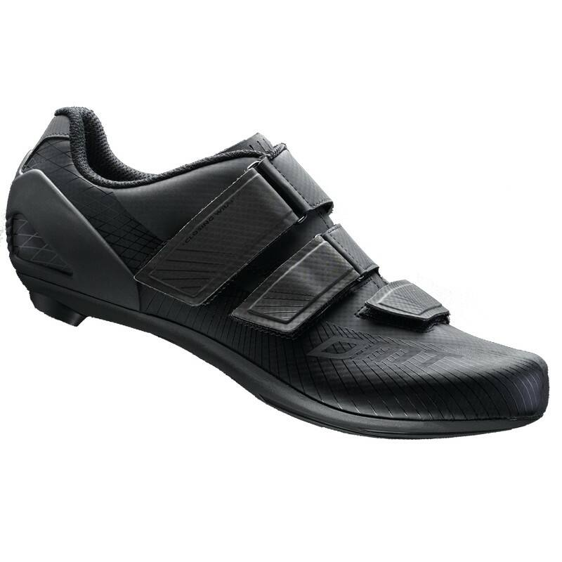 R6 országúti kerékpáros cipő, fekete/fekete - DMT
