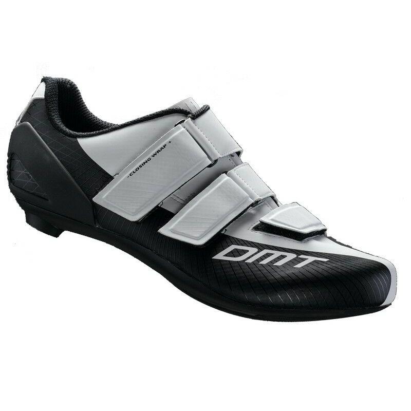 R6 országúti kerékpáros cipő, fehér/fekete - DMT