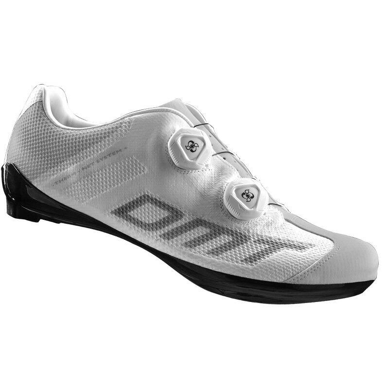 R1 Summer országúti kerékpáros cipő nyári, fehér/szürke - DMT