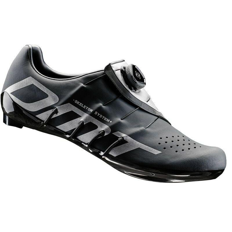 RS1 országúti kerékpáros cipő, fekete/ezüst - DMT